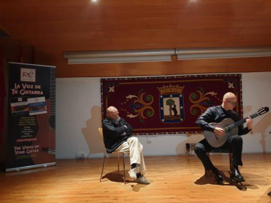 Luigi Sini Luis de Pablo Festival Andres Segovia