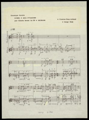 Luigi Sini Pierre Yves Artaud Giuseppe Soccio Lisar