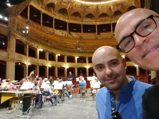 Luigi Sini Andrea Biagini Politeama Palermo Nuove musiche
